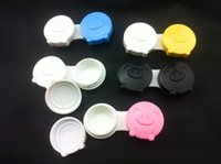 Wholesale Pig Contact Lens Case - Good quality free shipping contact lens case 30 pcs lovely pig mix color