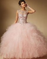 Wholesale Cheap Sexy New Years Dresses - New Cheap Quinceanera Dresses 2017 Sparkling Shiny Crystal Sweet 16 Dresses For 15 Years Vestido De Debutante QC255