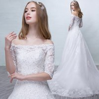 High-End-weiße Braut Appliqued Lace Diamond Kleid Lace-up Hollow Bateau Elegant Backless Bestickte Kathedrale Zug Nixe Brautkleider