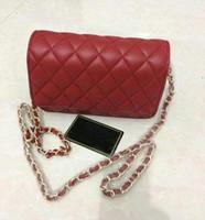 Wholesale Sequined Wallet - 2017 Women chain strap Single shoulder bag luxury shopping bag fashion Messenger Purse wallet bag handbags free shipping