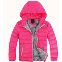 Wholesale Kids Down Coat 4t - Free shipping new Baby girls boys vest children's clothes kids warm jacket boys down coat jackets outerwear retail
