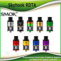 Wholesale Choice Metals - Original Smok Skyhook RDTA Tank 5ml Floating Velocity Post Airflow Choices Atomizer Side Refilling System SmokTech 100% Genuine 2218065