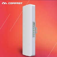 Wholesale Waterproof Wifi Antenna - WIFI repeater 3-5km long coverage Outdoor waterproof antenna CPE COMFAST CF-E214N wireless poe cpe access point All Weather free shipping