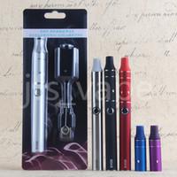 Wholesale Ago G5 China - Vape Dry Herb Wax for Vaporizer Pen Ecigarette Evod Mini Ago G5 Vape Starter Kit 650mah Eciga Herbal Atomizer China Direct