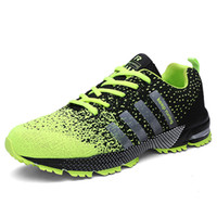 Wholesale Casual Male Sneakers - High Quality Men Light Breathable Casual Shoes For Male Fashion Mens Mesh Designer Laces Up Men Air Shoes Zapatillas Outdoor Flats Sneakers