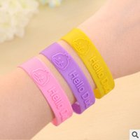 Wholesale Mosquito Bangles - Hot Plant essential oil Mosquito Killer Repellent Bracelet Mosquito Bangle Wrist For Baby Adult Protector Silicone Anti-mosquito Feet Ring