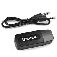 ingrosso flusso audio usb-Di buona qualità USB Car Bluetooth adattatore audio Music Receiver Dongle porta da 3,5 mm Auto AUX Streaming A2DP Kit per altoparlante telefono Cuffia