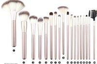 Wholesale 18 Pcs Professional Brushes Set - Makeup Brushing Brush Set 12 18 24 pcs Soft Synthetic Professional Cosmetic Makeup Foundation Powder Blush Eyeliner Brushes