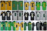 Unisex oregon thomas - Cheap Oregon Ducks College Jerseys Marcus Mariota th Anniversary De Anthony Thomas D Thomas Stitched University Green White