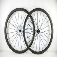 Wholesale Road Bike Wheel Sticker - AWST hot sales custom Sticker carbon wheels 38mm 100% carbon bicycle wheels wide 23 25mm 700C road bike carbon wheelset in stock