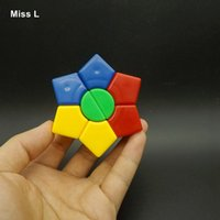 Colorful Puzzle Dart Magic Cube Stickerless Classic Mind Game Jouet éducatif Enfant Adulte Anti Stress Christmas Gift