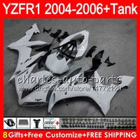 Wholesale black pink r1 fairings for sale - Group buy 8Gift Color Body For YAMAHA YZF1000 YZFR1 YZF R1000 gloss white HM8 YZF R YZF YZF R1 YZF R1 Fairing kit