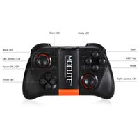 Wholesale Remote Pc Iphone - MOCUTE-050 Gamepad Bluetooth Game Gaming Joystick Controller Shutter Remote Control for iPhone IOS Andriod Smart Phone TV BOX PC