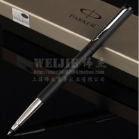 Wholesale Business Stationery Gift - Free Shipping Parker Roller Ball Pen School Office Suppliers Signature Ballpoint Pen Business Excutive Fast Writing Pens Stationery Gift