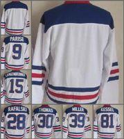 Wholesale Usa Women - 2010 Team USA Hockey Jersey Ice OLYMPIC Blue 9 Zach Parise 88 Patrick Kane 81 Phil Kessel 28 Brian Rafalski 39 Miller 15 Langenbrunner