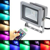 Wholesale 10W RGB LED Flood Light Waterproof Landscape Lamp H4471