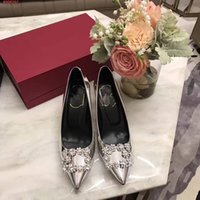 Wholesale Auger Pump - 2017 top the new designers high-end customization luxury leather fashion elegant high quality Set auger women's high-heeled shoes