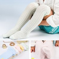 Wholesale Air Legs - Baby cotton mesh stocking infants 6colors socks air-conditioning stockings leg warmer socks for infants 0-5T