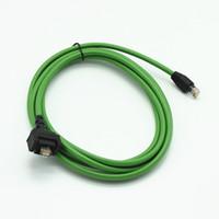 mb stern diagnose kompakt großhandel-Für benz MB stern C4 SD CONNECT COMPACT 4 C4 Stern Diagnose auto lkw werkzeug lan kabel 5 meter wifi lan kabel