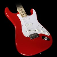 Wholesale Electric Guitar Clapton - Custom Shop Masterbuilt Todd Krause Eric Clapton ST Electric Guitar Torino Red