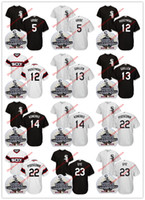 Wholesale Scott Jersey Short Yellow - Chicago White Sox 2005 World Series Jersey Juan Uribe A. J. Pierzynski Ozzie Guillen Paul Konerko Scott Podsednik Jermaine Dye