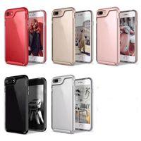 Wholesale mobile back rubber cover online – custom Transparent Clear Slim Crystal TPU Case Gel Rubber PC Frame Mobile Phone Back Cover for iPhone Plus Plus