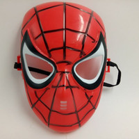 Red Black Classic Cartoon Spider-Man Máscara Full Face para crianças Humor Games Film Mask Anti-stress Hot Sale Brand New