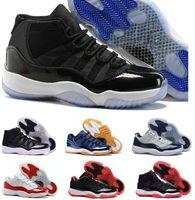 Wholesale Black Leather Boot Laces 72 - 2017 Cheap Retro 11 Spaces Jams Men Basketball Shoes 11s Sneakers Concords 72-10 Legend Blue Cool Grey Boots