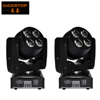 Wholesale Moving Faces - TP-L6W2 Free Shipping 2XLOT 8Pcs 15W High Power RGBW Led Moving Head Wash Light Double Faced Feature Super Powerful Light