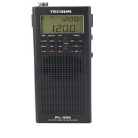 Wholesale rechargeable station - Wholesale-Tecsun PL360 PLL Full Band DSP Radio Station Receiver with ETM AM FM SW LW Receiver Built-in Speaker
