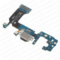 Wholesale oem connector - 50PCS OEM 100% New Charging Port Charger Dock Connector Flex Cable Replacement for Samsung Galaxy S8 Plus G950U G950F G955U G955F
