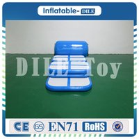 Wholesale gymnastics equipment for sale - Group buy a set of inflatable gym air track equipment set inflatable training set air track inflatable gymnastics mat