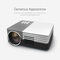 Wholesale 3d Movie X - Wholesale-GM50 80LM 480 x 320 Pixels Home Theater Mini Projector for Video Games TV Movie LED Proyector Support HDMI VGA AV MHL 3D Beamer