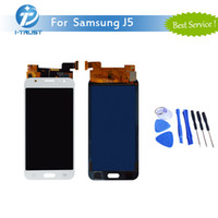 Wholesale Screen Replacement Repair Lcd Galaxy - AAA Quality LCD For Samsung J5 J5 J500 J500F J500G J500Y J500M Display Digitizer Good Repair Replacement With Tools+FreeShipping