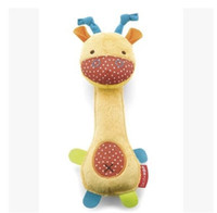 Wholesale Old Collectible Toys - 0-2 year old Puppet Plush Animal BB rod Rattle Baby baby toys
