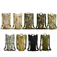 Wholesale camel outdoor backpack for sale - Group buy 3L Portable Hydration Packs Camo Tactical Bike Bicycle Camel Water Bladder Bag Assault Backpack outdoor Camping Hiking Pouch Water Bag