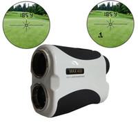 ingrosso perni laser-Vendita calda 400M Laser Golf telemetro con modello di bandiera, con Pinseeking, monoculare da golf telemetro, Golf Telemetro laser con Pin Senso