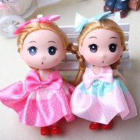 Wholesale China Hot Doll - Hot selling Cute Mini Ddung ddgirl Dolls Mini Pendant toys Dolls Girl Dolls Toys good gift for girl