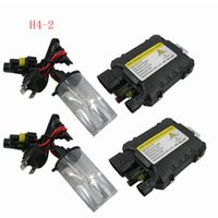 GOOD 12V 35W H4-2 Hi / Low fascio Xenon HID conversione sottile Kit 4300K-12000K