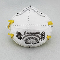 Wholesale Particulate Respirator - 3M 8110S Safety Protective Mask Particulate Respirator Health Care Against Certain Non-oil Based Particles N95 Standard
