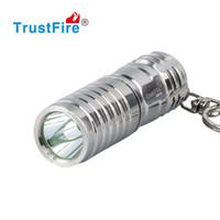 en iyi anahtarlık led feneri toptan satış-Paslanmaz Çelik Mini LED El Feneri Su Geçirmez Anahtarlık LED Işık Anahtarlık El Feneri En Iyi Hediye Anahtarlık Konut 16340 Şarj Edilebilir Meşale