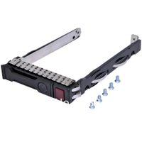 "Wholesale Sas Server - Wholesale- 2.5"" SFF SAS SATA HDD Tray Caddy For 651687-001 651699-001 Proliant Gen8 ProLiant DL Gen8 ProLiant ML Gen 8 Servers"