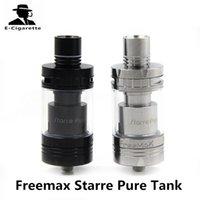 Wholesale E Pure - Original Freemax Starre Pure Tank 4.0ml Sub Ohm Tank No Leaking Design Top Filling E cigarette Atomizer 2257001