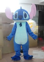 Wholesale Lilo Stitch Mascot - Factory direct sale Custom Made animal mascot Lilo & Stitch Mascot Costume Stitch Mascot Costume Lilo & Stitch Costume for