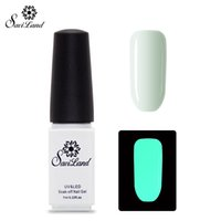 Grossiste Saviland 1pcs Fluorescent Neon Luminous Gel Vernis à ongles Soak Off Gel UV laque Glow dans Esmalte Dark Gel vernis ongles