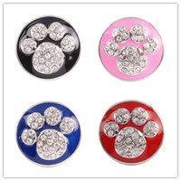 Wholesale newest design noosa snap button noosa diy snap button for noosa bracelets KC8516