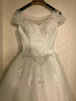 Wholesale Wholesale Sexy Wedding Dresses - 2017 high quality wedding dress with sleeves beautiful elegant luxury wedding gown