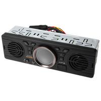 Wholesale 12v car port online - Bluetooth EDR Vehicle Electronics In dash MP3 Audio Player Car Stereo FM Radio with USB TF Card Port AV252B V