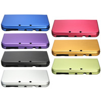 Wholesale Metal Case Nintendo 3ds Xl - Aluminium Aluminum Box Metal Skin Protective Case Cover Shell For Nintendo New 3DS XL LL High Quality DHL FEDEX EMS FREE SHIPPING