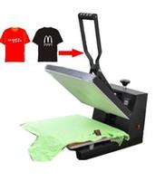 ingrosso stampati mouse-Nuovo design maglietta macchina della pressa di calore 38 * 38 cm CE approvato puzzle / piastrelle / strass / mouse pad macchina da stampa a trasferimento di calore via LLFA